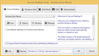Secure Desktop Tools