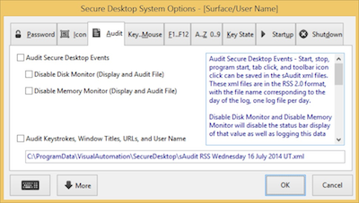 Secure Desktop Audit
